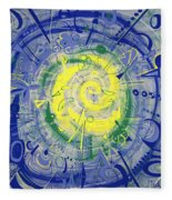 Modern Art Five Fleece Blanket