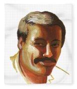 Mohammed Lakhdar Hamina Fleece Blanket