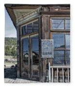 Molson Washington Ghost Town Bank Fleece Blanket
