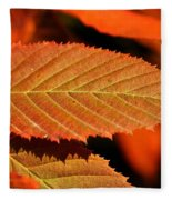Molten Bronze Fleece Blanket