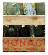 Monaco Wooden Crate Fleece Blanket