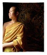 Monk Alex Laos Fleece Blanket