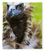 Monk Vulture 5 Fleece Blanket