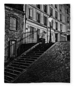 Montmartre After Dark Fleece Blanket