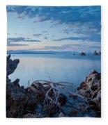 Mono Lake After Sunset Fleece Blanket