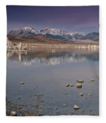 Mono Lake Panorama Fleece Blanket