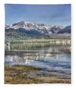 Mono Lake Sierra Fleece Blanket