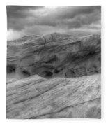 Monochrome Landscape Project 3 Fleece Blanket