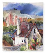 Monpazier In France 05 Fleece Blanket