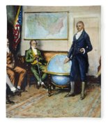 Monroe Doctrine, 1823 Fleece Blanket