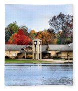 Monroe Falls Park Fleece Blanket