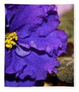 Monster Violet Fleece Blanket