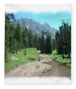 Montana Mudhole Fleece Blanket