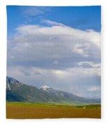 Montana Ploughed Earth Field Fleece Blanket