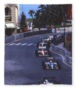 Monte Carlo Casino Corner Fleece Blanket