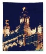 Monte Carlo Casino's Ocean View Fleece Blanket