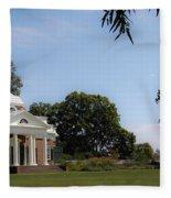 Monticello Grounds Fleece Blanket