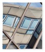 Montreal Reflections Viii Fleece Blanket