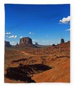 Monument Valley Fleece Blanket