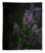 Mood Lilac Fleece Blanket