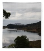 Moody Lake - Ring Of Kerry - Ireland Fleece Blanket