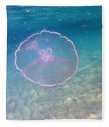 Moon Jelly Fleece Blanket