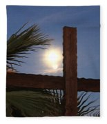 Moon Rising Four Fleece Blanket