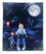Moon Song Fleece Blanket
