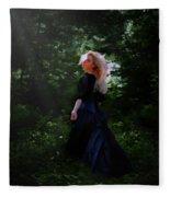 Moonlight Calls Me Fleece Blanket