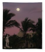 Moonlit Resort Fleece Blanket