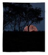 Moonscape Fleece Blanket