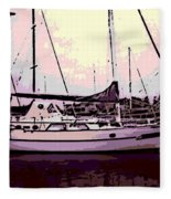 Moored Fleece Blanket