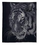 Moquito El Tigre Fleece Blanket