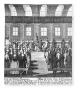 Moravians, 1757 Fleece Blanket