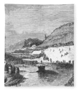 Mormon Baptismal, 1873 Fleece Blanket