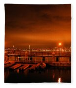 Morning Calm Fleece Blanket