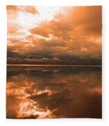 Morning Expressions Fleece Blanket