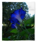 Morning Glory 01 Fleece Blanket