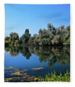 Morning Reflection Fleece Blanket