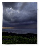 Morning Squall Fleece Blanket