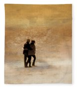 Morning Stroll Fleece Blanket