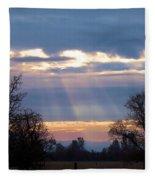 Mornings Heavenly Light Fleece Blanket
