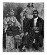 Moroccan Jews, C1892 Fleece Blanket