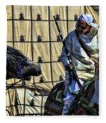 Morocco Festival II Fleece Blanket