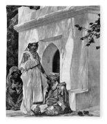 Morocco: Fortune Teller Fleece Blanket