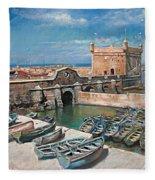 Morocco Fleece Blanket