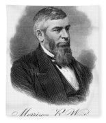 Morrison R. Waite (1816-1888) Fleece Blanket