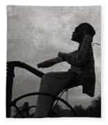 Mortality Road Fleece Blanket