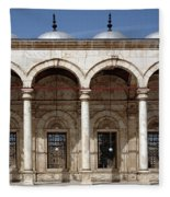 Mosque Of Muhammad Ali In Cairo Fleece Blanket