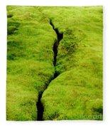 Moss Forest Fleece Blanket